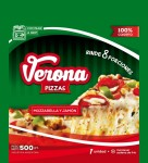 MOZZARELLA Y JAMON, Pizzas Verona, venado tuerto