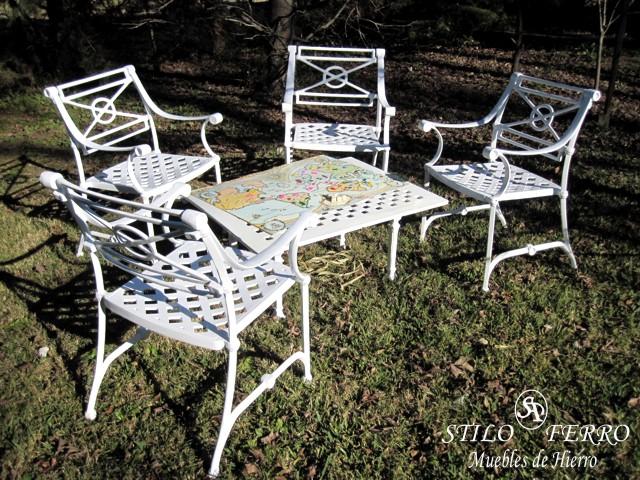 Muebles de hierro y juegos de jardin portal de delivery - Muebles jardin hierro ...